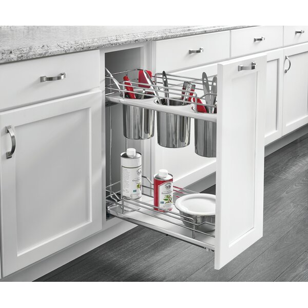 2 Tier Utility Pull-Out Organzier by Rev-A-Shelf