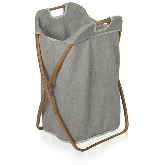 Bamboo Foldable Hamper Laundry with Carry Handles by Union Rustic