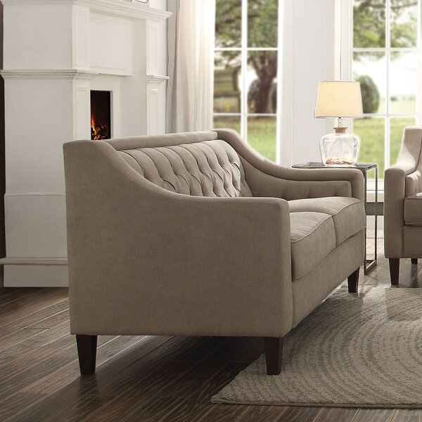 Great Price Damiáno Loveseat by Darby Home Co