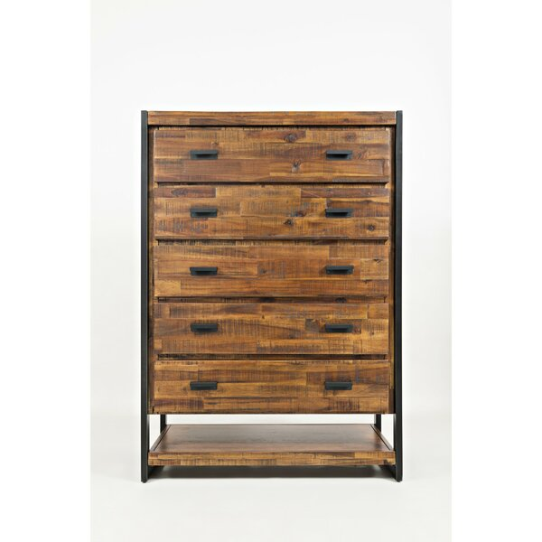 Perseus 5 Drawer Accent Chest by 17 Stories