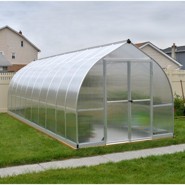 Bella 8 Ft. W x 20 Ft. D Greenhouse by Palram