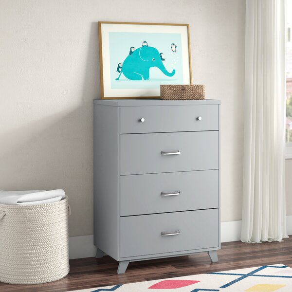 Kaiser Point 4 Drawer Chest by Mack & Milo