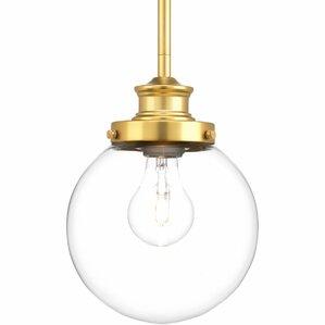 cayden led 1light globe pendant