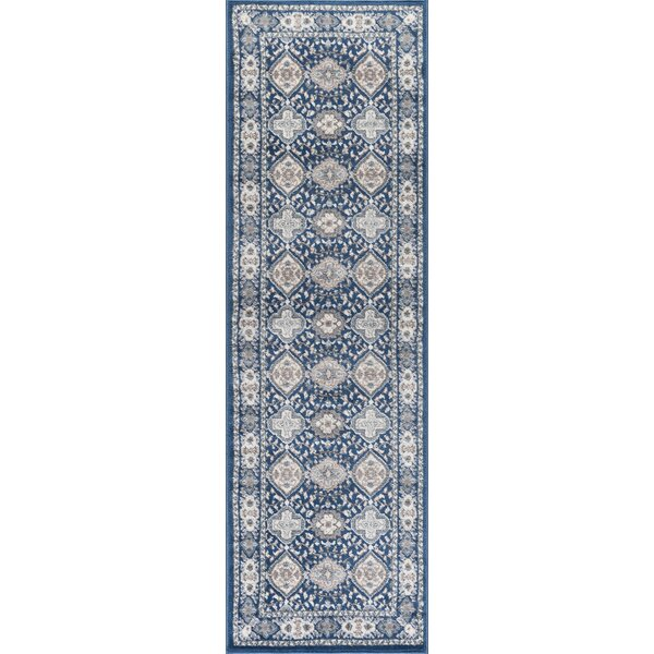 Dolphus Oriental Scatter Navy Area Rug by Darby Home Co