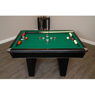 Shop For 4.5' Bumper Pool Table with Accessories By Hathaway Games