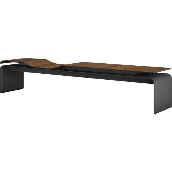 Norbury Wood Bench by Modloft Black