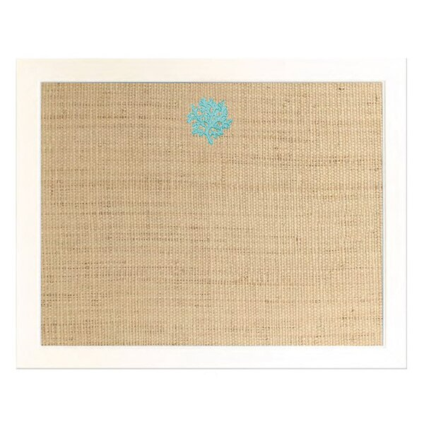 Coral Wall Mounted Bulletin Board by LG Designs