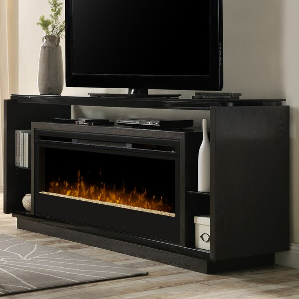 Review David TV Stand For TVs Up To 78 Inches With Fireplace Included