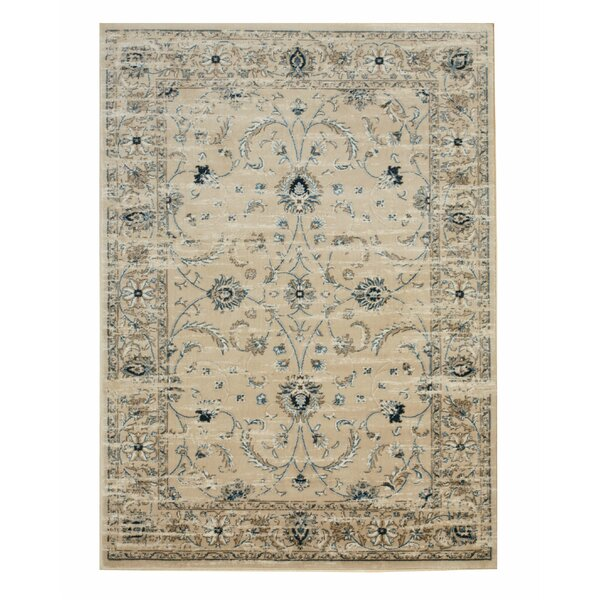 Huckabee Distressed Gray Area Rug by Charlton Home