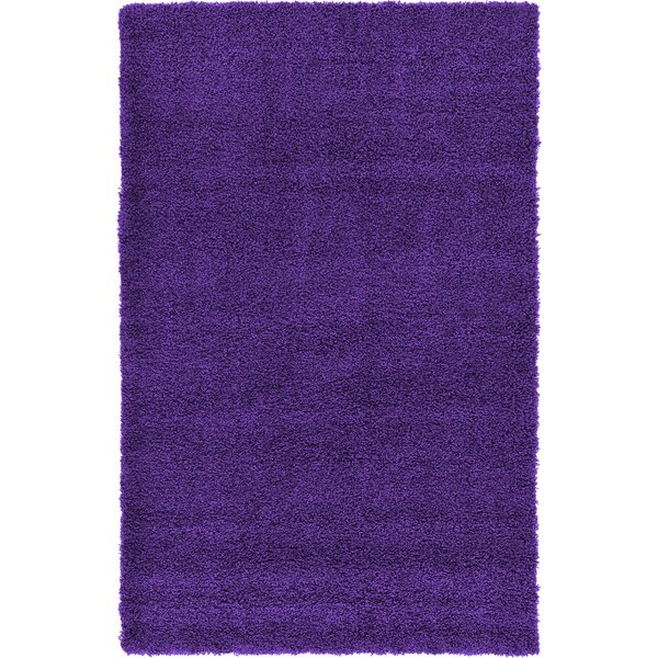 Hand-Woven Purple Area Rug by Affinity Linens