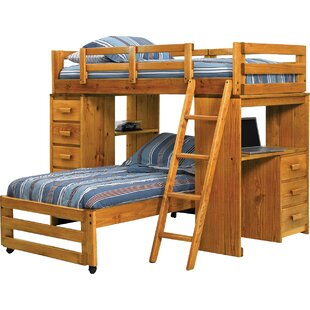 Twin L Shaped Bunk Bed