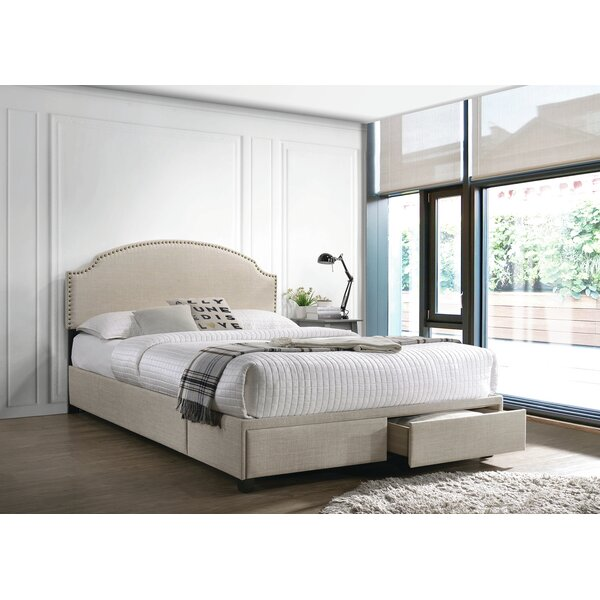 Leonila Upholstered Storage Platform Bed by Red Barrel Studio