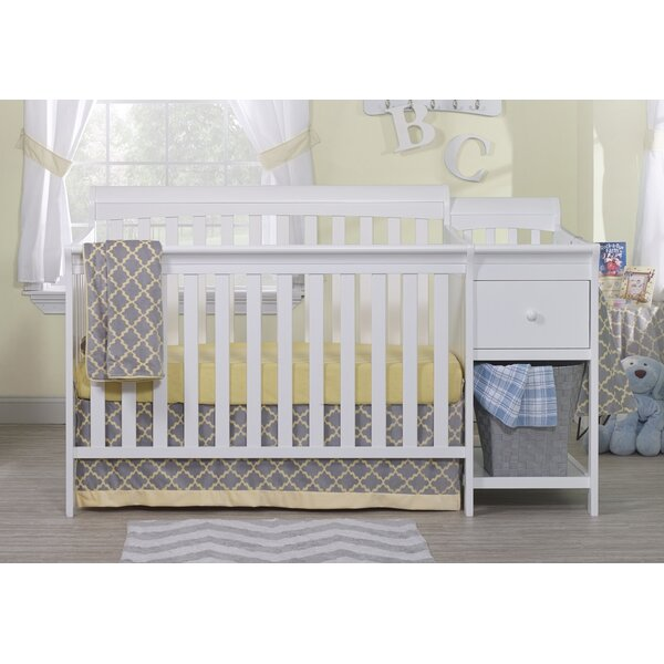 Florence 4-in-1 Convertible Crib and Changer Combo by Sorelle