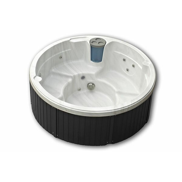 Malta 5-Person 16-Jet Spa with LED Light by Passion Spas
