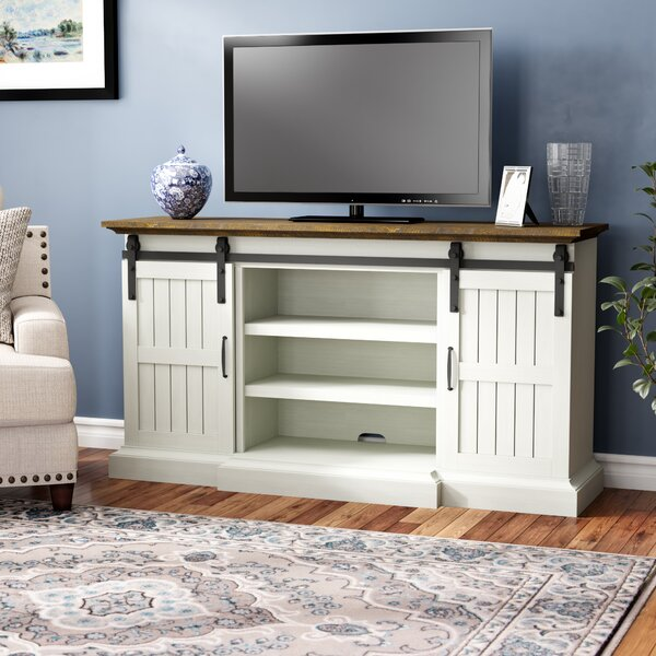 Price comparison Rhiannon TV Stand for TVs up to 70 by Laurel Foundry Modern Farmhouse
