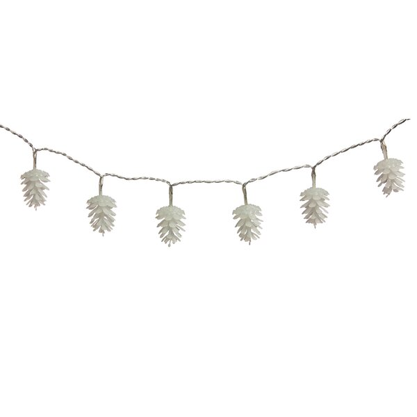 Pine Cone String Light by The Holiday Aisle