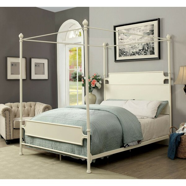 Pedro Canopy Bed by Alcott Hill