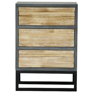 Price comparison Bremerton 3 Drawer Accent Chest By Union Rustic
