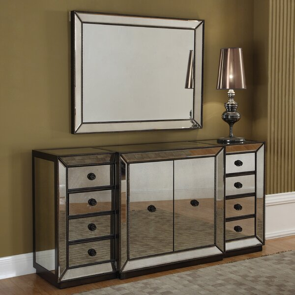 Sideboard and Mirror by BestMasterFurniture