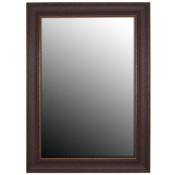 Copper Embossed Bronze Wall Mirror by Second Look Mirrors