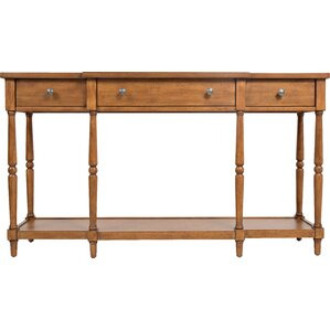 Walnut Console Table walnut console & sofa tables you'll love | wayfair