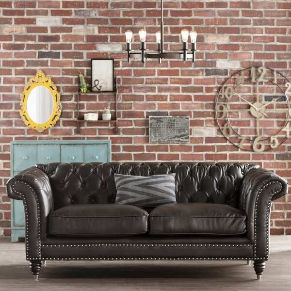 Cool Alsager Chesterfield Loveseat by Trent Austin Design by Trent Austin Design
