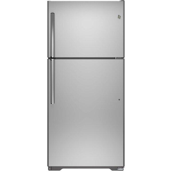 18.2 cu. ft. Energy Star® Top-Freezer Refrigerator by GE Appliances