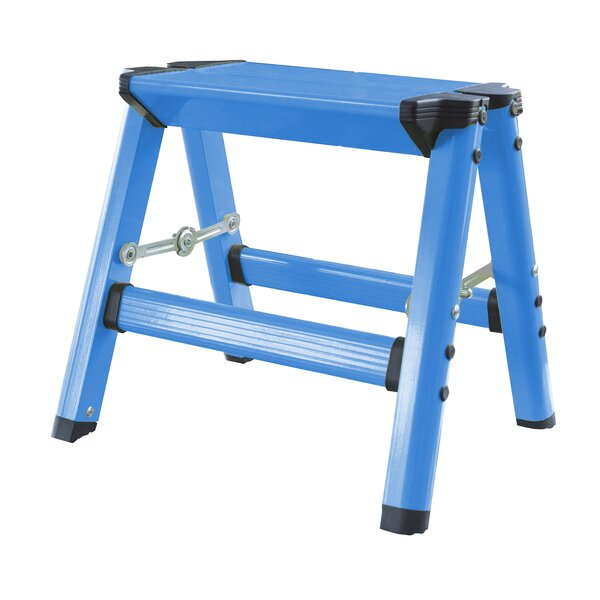 Kids Aluminum Folding Single Step Stool by Offex
