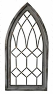 Cathedral Frame Gothic Wall Décor by Fleur De Lis Living