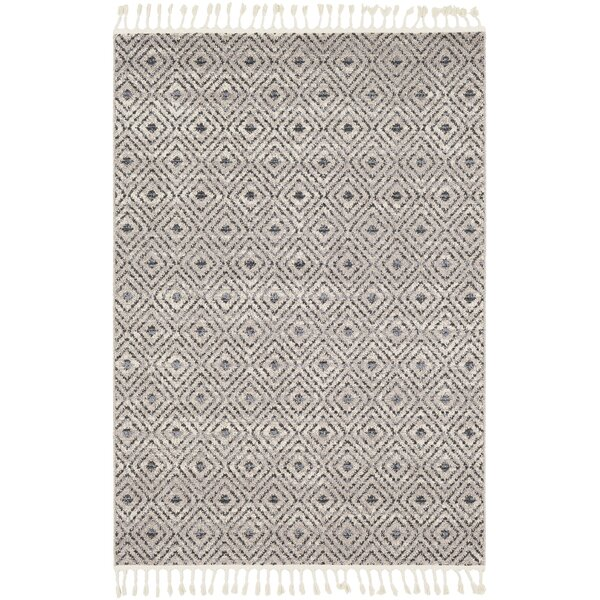Hudgens Distressed Beige/Gray Area Rug by Laurel Foundry Modern Farmhouse