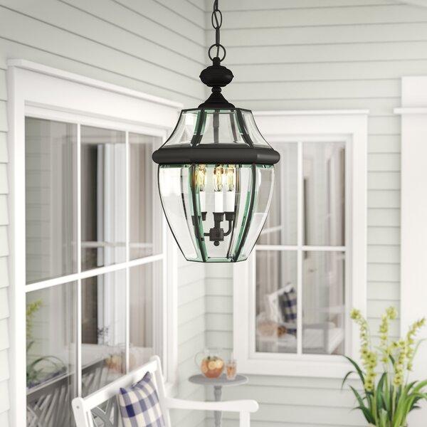 Mellen 3-Light Outdoor Hanging Lantern by Three Posts