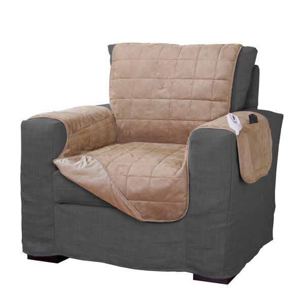 Warming Box Cushion Armchair Slipcover by Serta