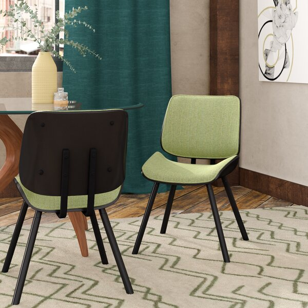 Arlon Upholstered Dining Chair (Set of 2) by Wade Logan