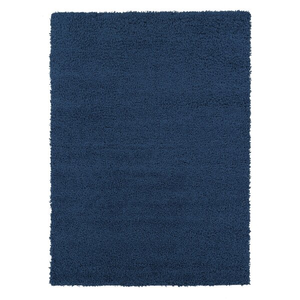 Cozy Shag Navy Blue Area Rug by sweet home stores