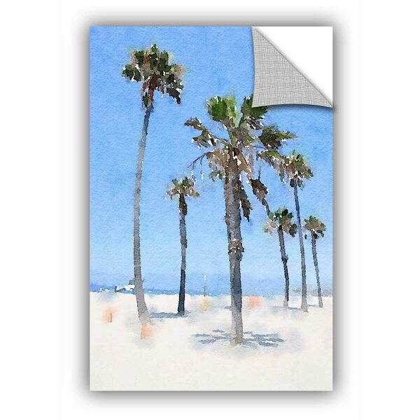 Irena Orlov Palms on the Beach Wall Decal by ArtWall