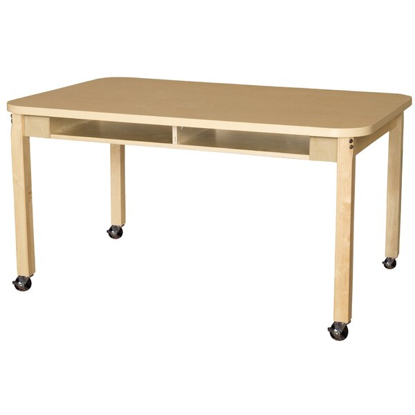 Manufactured Wood 22 Multi-Student Desk by Wood Designs
