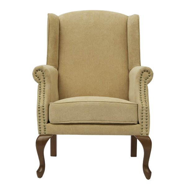Summers Wingback Chair by Alcott Hill