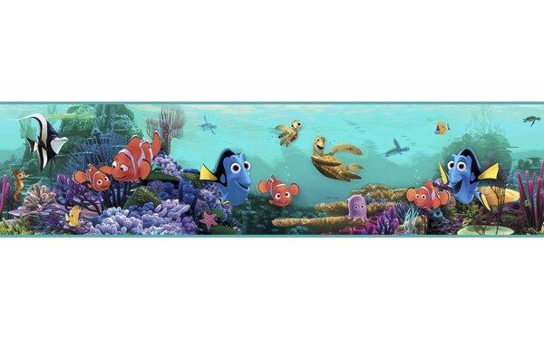 Walt Disney Kids II Nemo Under Water 9 Border Wallpaper by York Wallcoverings
