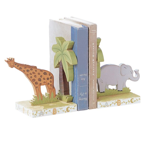 Alphabet Book End (Set of 2) by Fantasy Fields