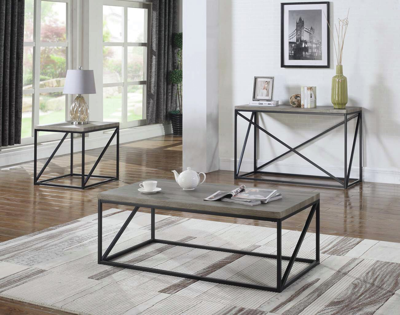 Gracie Oaks Mckay End Table | Wayfair