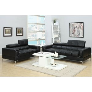 Alisa 2 Piece Living Room Set
