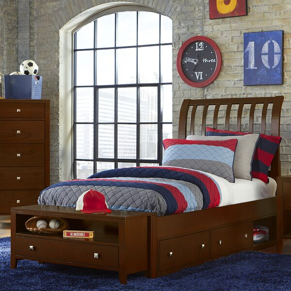 SusanRake Sleigh Bed by Three Posts Baby & Kids