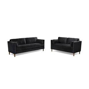 Olivares 2 Piece Standard Living Room Set by Corrigan Studio®