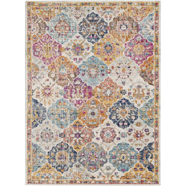 Hillsby Orange/Saffron Area Rug by Mistana