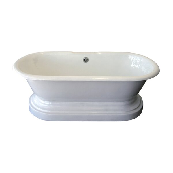 Duet 67 x 31 Soaking Bathtub by Barclay