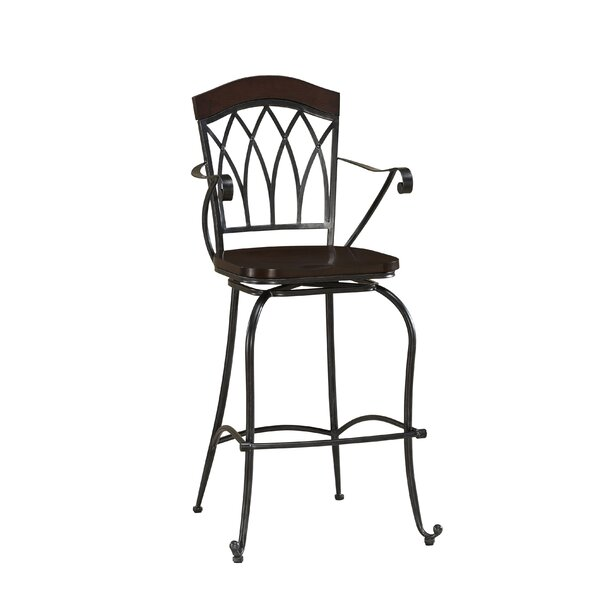 Arielle 30 Swivel Bar Stool by American Heritage