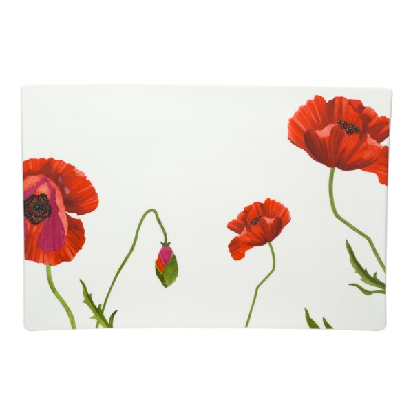 Summer Sun Rectangular Platter by Red Vanilla