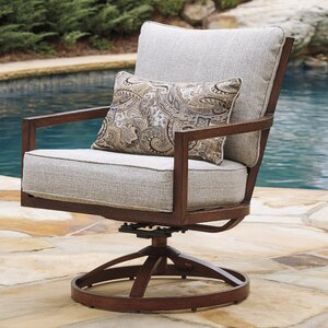 Geneseo Swivel Lounge Chair (Set of 2)