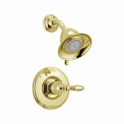 Dual Shower Faucet Trim Polished Brass 1021 Product Photo