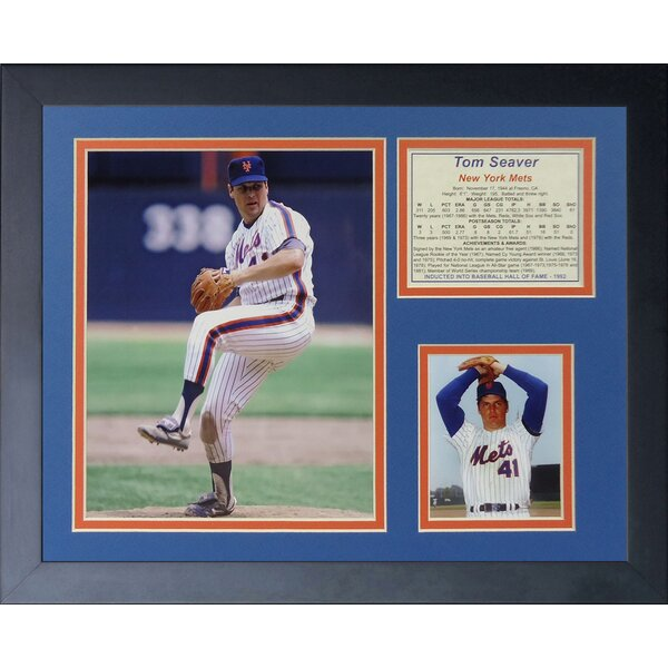 Tom Seaver Mets Framed Memorabilia by Legends Never Die